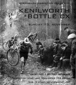 Kenilworth Bottle CX-This Sunday.