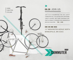 Levi's Commuter Launch 2012-Minneapolis
